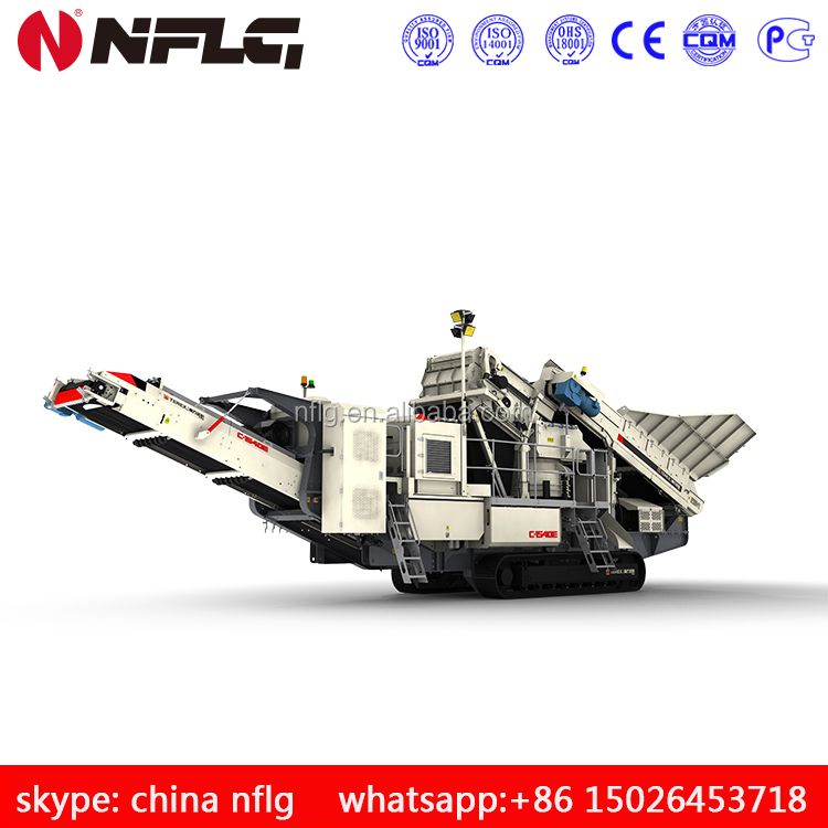 Diesel engine stone crusher is on hot sale with good quality