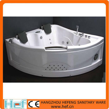 HEF 2 Persons ABS Couple Massage Whirlpool Bathtub