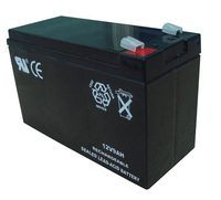 12v9ah rechargeable deep cycle battery for street light