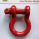 LiftingGalvanized Screw Pin US Type Steel Drop Forged Chain D Shackle