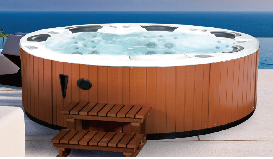 JAZZI Traditional Gazebo Spa Surround for a Family of 5 People SKT 306A