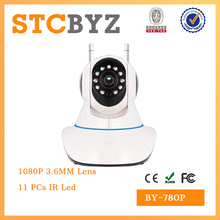 Hot Sell promotion gift 720P wfi ip baby monitor 1 MP yyp2p camera