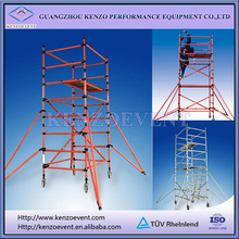 china aluminum types of scaffolding system for sale