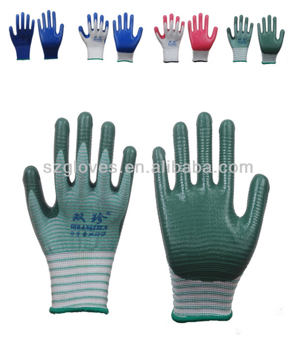High Quality Nitrile coated working gloves