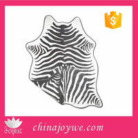 Soft Grey Zebra Shaped beach towel, Crafted in 100% Cotton Trimmed Edges 54