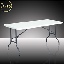 Easy To Carry Folding Plastic Square Tables For Outdoor Event