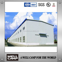 China Light Steel Structure/Economic Prefabricated Warehouse Price