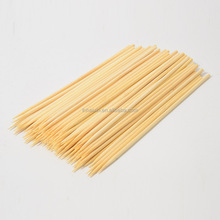 4.0 * 400mm disposable bamboo skewer for marshmallow roasting sticks