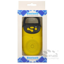 bluetooth speaker with remote shutter TF card and FM microphone speaker tour guide