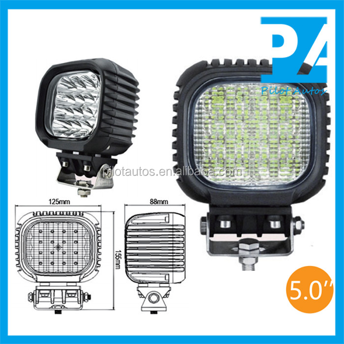 "48W 5"" inch Led Work Working Light For ATV SUV off road 4x4 heavy equipments Truck Jeep Motorcycle Boat 0448"