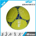Gravim cheap yellow design full printing soccer ball