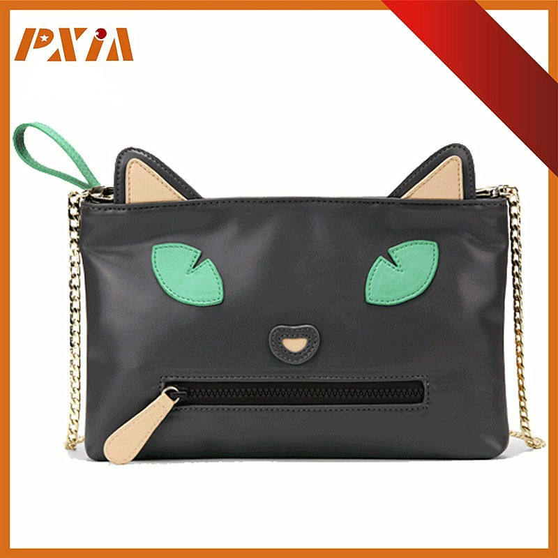Fashion Cat Pattern Clutch Purse Clutch HandBag Evening Party For Ladies