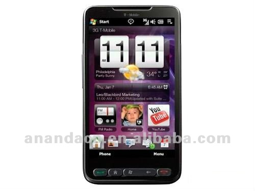 "T8585 HD2 MTK6573 3G Phone 4.3"" Capacitive GSM+WCDMA Android 2.3 GPS smart phone 512MB RAM 512MB ROM"