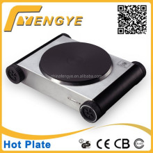 heat-resistant handle single cooking plate