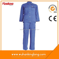 Cleaning Staff Smocked Work Clothing Uniform