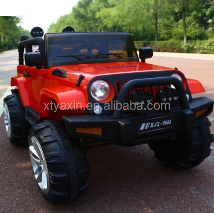 Newest Wrangler Jeep 12V Battery Powered 4X4 Kids Ride On Car One Big Seat Powerful Wheels Children