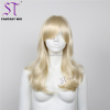 "Aliexpress Wholesale Fashion Synthetic Wig 23"" Shiny Blonde Store Window Wigs For Female Mannequin"
