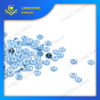Jewelry Wax Setting Stones Synthetic Diamond 5mm