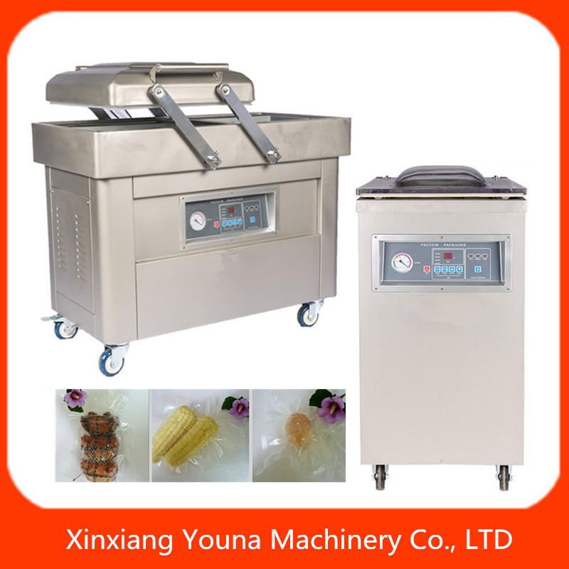 china high quality fresh fruit meat vacuum sealer with gas flush