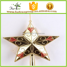 metal designer handmade christmas tree toppers