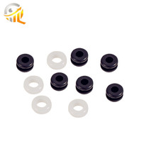 Normal Flame Retardant Epdm Small Rubber Parts Silicone Grommet Food Grade