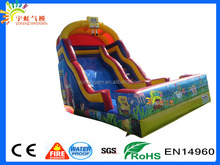 HOTTEST! Spongebob inflatable slide giant slide