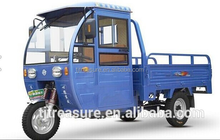 front loading cargo tricycle with cabin