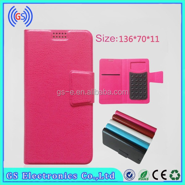 Universal Suction For Lenovo S820 Leather Case,Mobile Phone Case For Lenovo S820