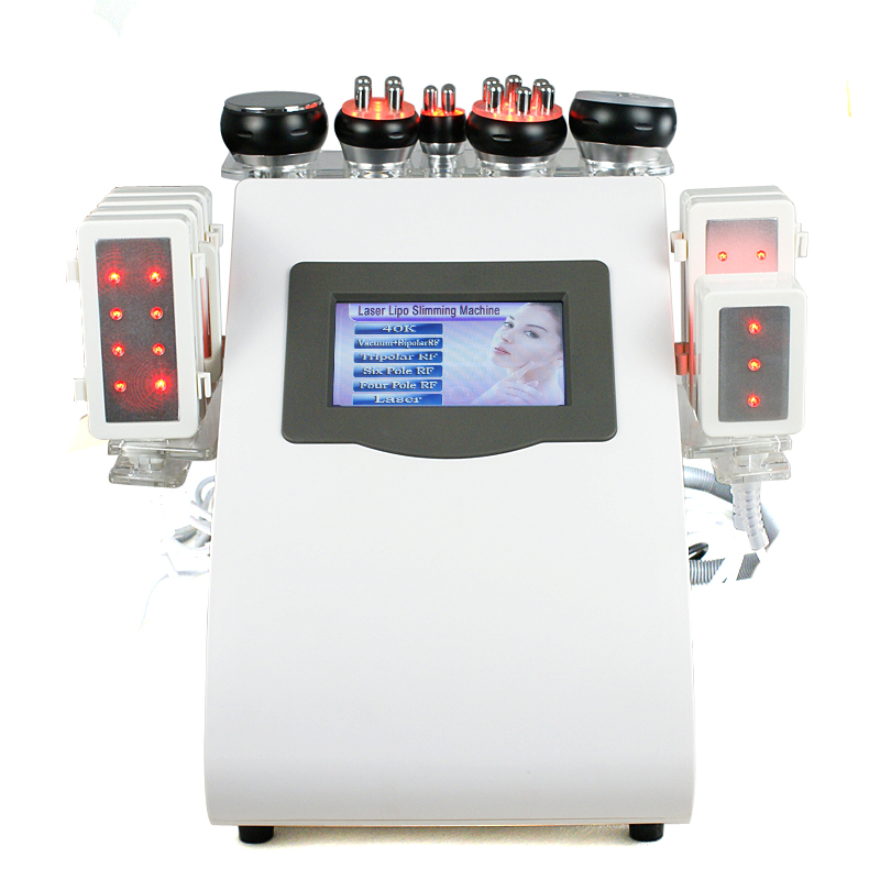 Economic 8 Paddles LIPO LASER Machine with Cavitation / VACUUM RF / infrared