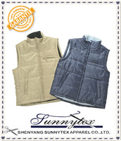 New Design For Men's Winter Canvas Vest