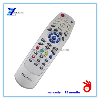 42 KEYS Silvery RCS46 STRONG satellite receiver remote control factory 2015 Zhengfei Anhui manufacture Hot Selling products