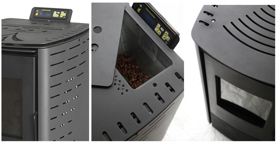 beautiful pellet buring pellet stove buy cheap pellet stoves italian pellet stoves portable. Black Bedroom Furniture Sets. Home Design Ideas