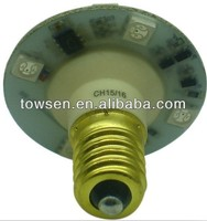E10 Auto Turbo Cap Bulb waterproof ip65 E14 5050 RGB funfair led light turbo amusement led lights
