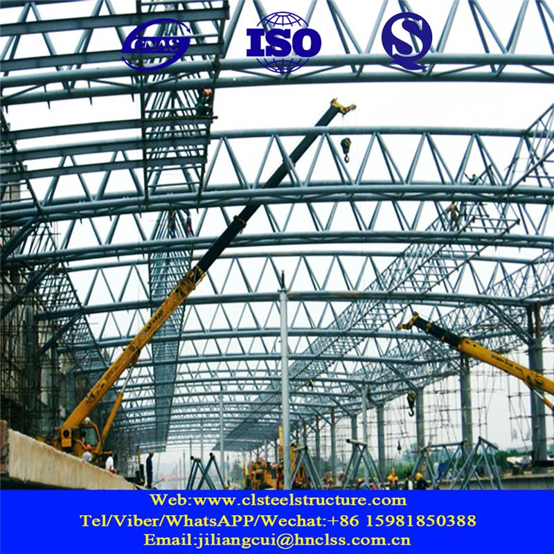 pre-engineering workshop prefab structure shopping mall structural steel car exhibition center