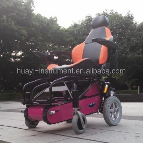 Multifunctional Electric Stair Climbing Wheelchair MKX-LY-03A from China Designed for Short-distance Travel