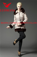 Block color winter the latest coat styles for women