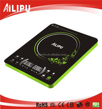 Ultra thin 2 screen electric super slim electric microcomputer universal induction cooker
