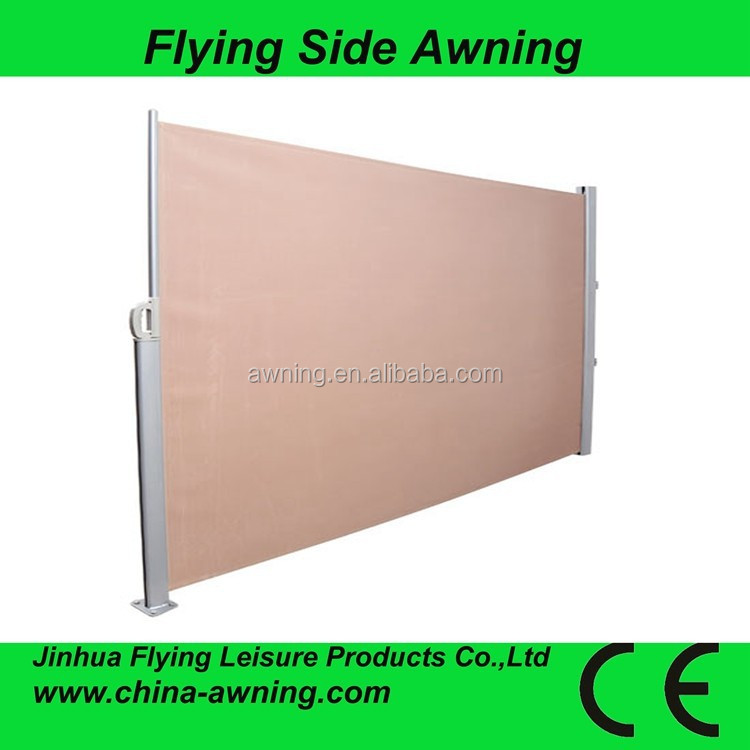 Economic colourful car roof side awnin0g with CE approved-transparent awning