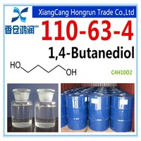 Excellent organic solvent high grade 1 4-butanediol BDO with low price