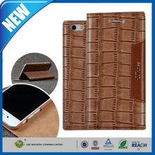 C&T Luxury PU Leather Wallet Case Stylish Pattern Design Stand Flip Protective Cover for iphone 6 plus