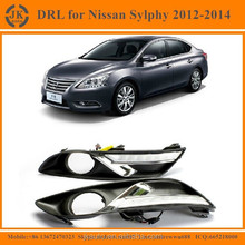 High Power LED DRL Fog Light for Sylphy Excellent Quality LED Daylight for Nissan Sylphy 2012~14'