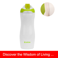 400ml Stainless Steel Sport water Bottle With Colorful Cap