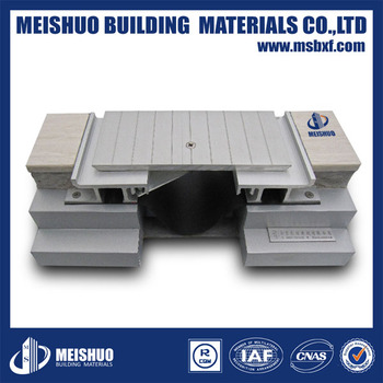 Aluminum Concrete Expansion Joints for Car Parking Expansion Joint System