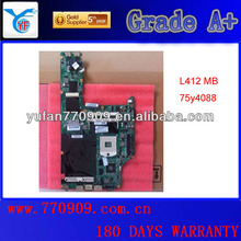 laptop mainboard L412 L512 assembly refurbished FRU 75Y4088