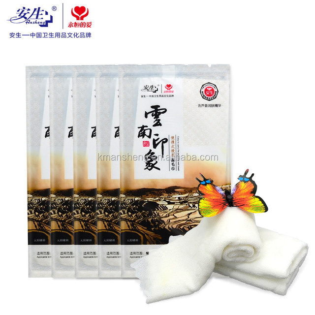 China wholesale Disposable magical push clean wet wipes with restaurant/wedding/party