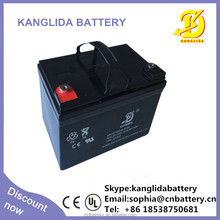 maintenance free rechargeable 12v33ah deep-cycle lead-acid battery rechargeable for vacuum cleaner