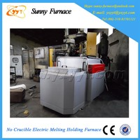 small style Non-crucible glass melting cremation furnace for sale