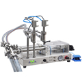MZH-60-2 Series of Full-pneumatic Double-nozzle liquid Filling Machines