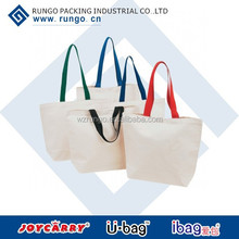 Recycle Cotton Bag Promotional Items,natural recycled cotton canvas tote bags