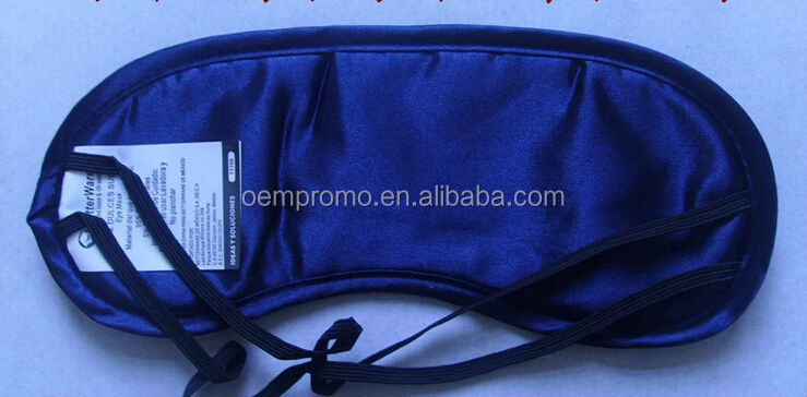 Promotional eye mask for Airline and Hotel, disposable eye mask with logo
